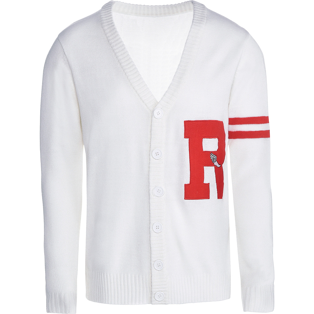Mens Rydell High Letterman Sweater - Grease Image #3