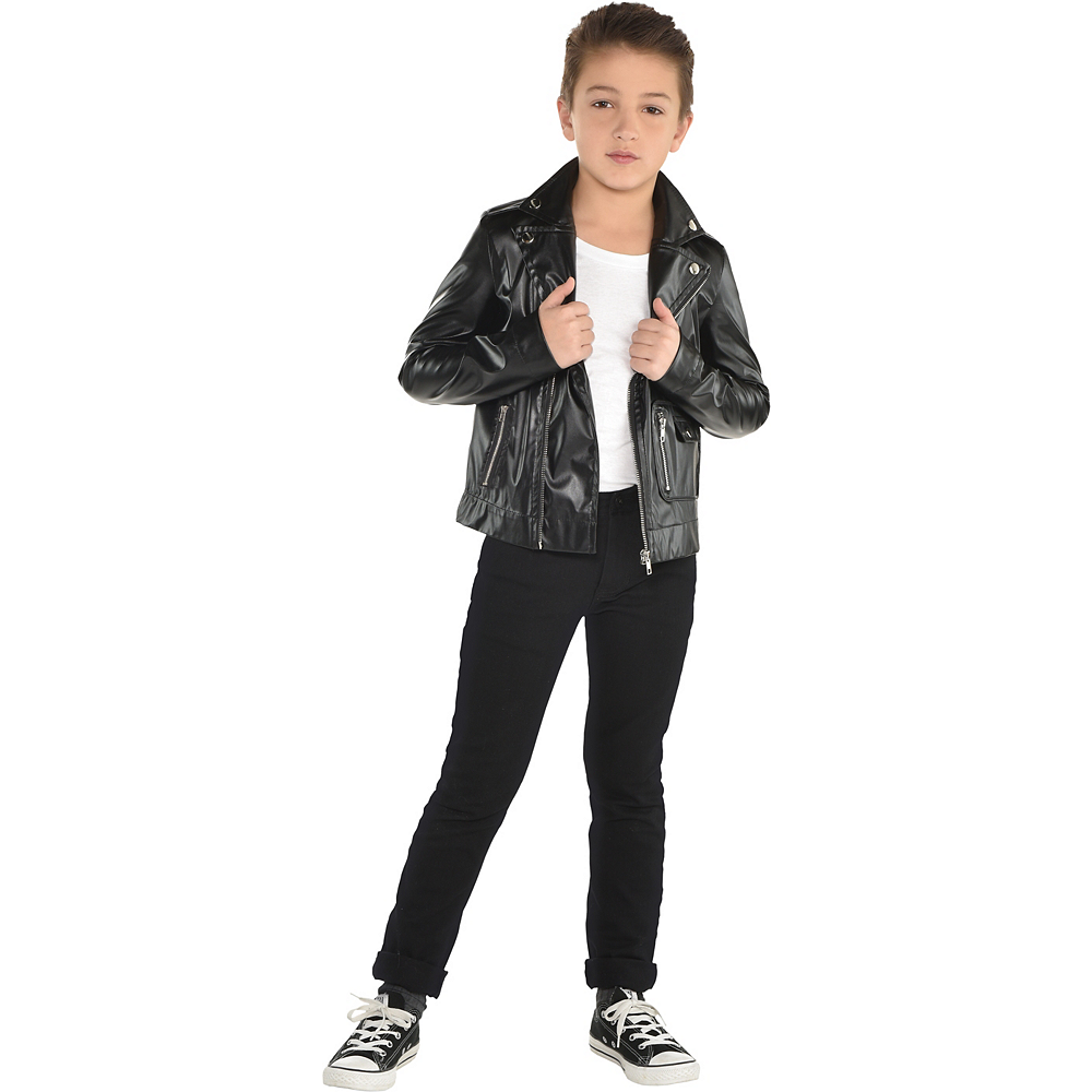 Nav Item for Child T-Birds Leather Jacket - Grease Image #1