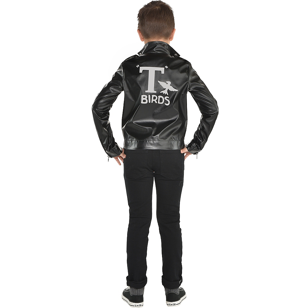 Nav Item for Child T-Birds Leather Jacket - Grease Image #2