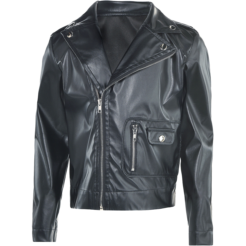 Nav Item for Child T-Birds Leather Jacket - Grease Image #3