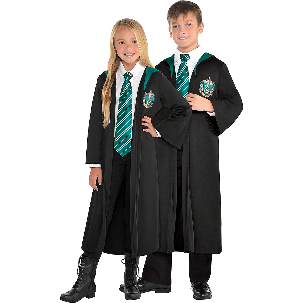 Child Slytherin Robe - Harry Potter Image #1