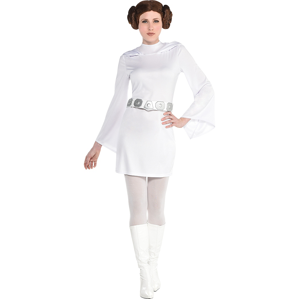 Womens Princess Leia Dress - Star Wars Image #1