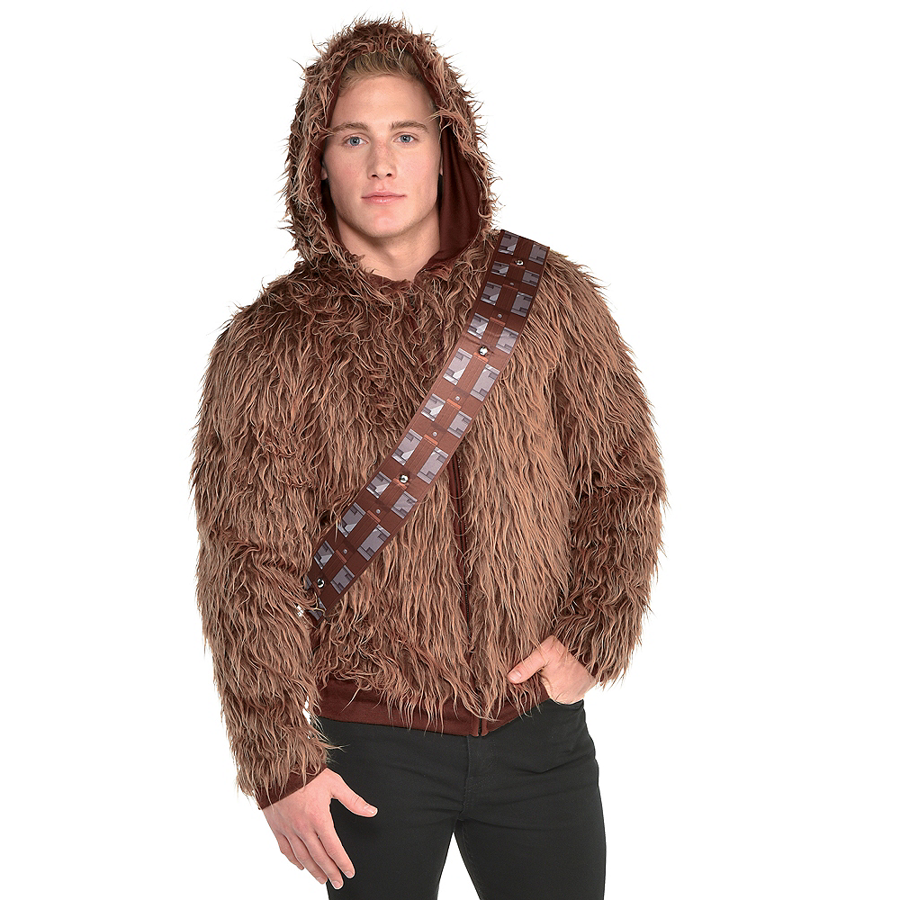 Nav Item for Adult Chewbacca Hoodie - Star Wars Image #1