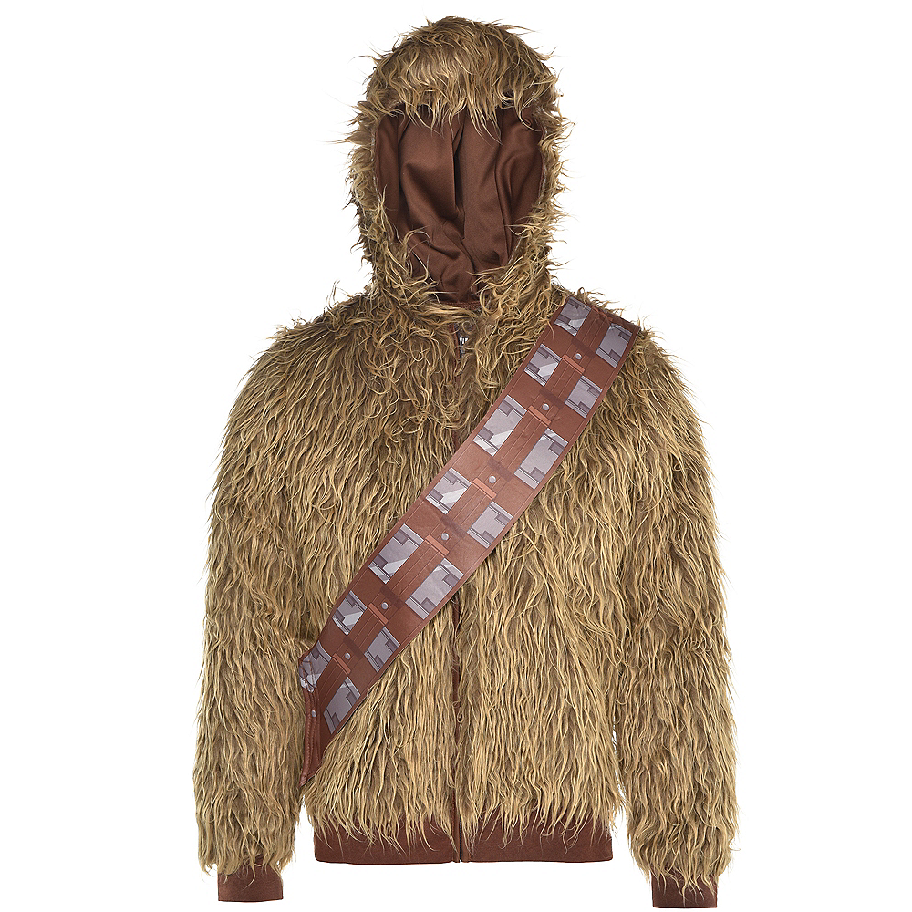 Nav Item for Adult Chewbacca Hoodie - Star Wars Image #2