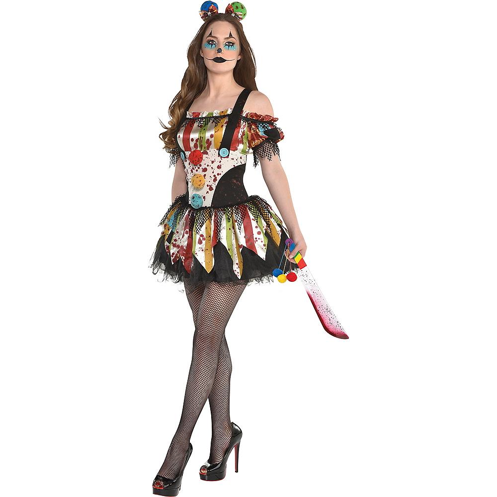 Womens Bloody Clown Dress Image #1