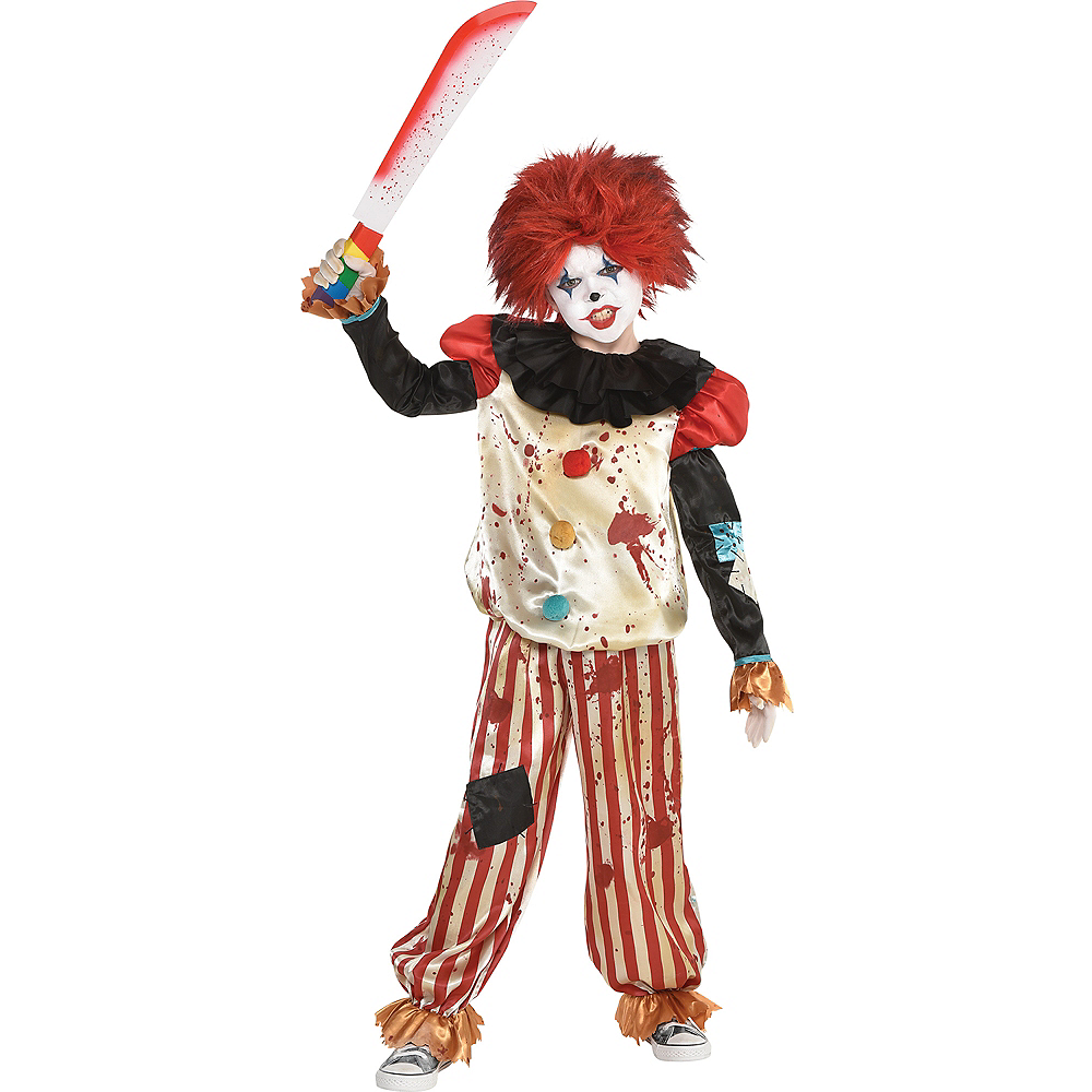 Child Bloody Clown Accessory Kit Image #1