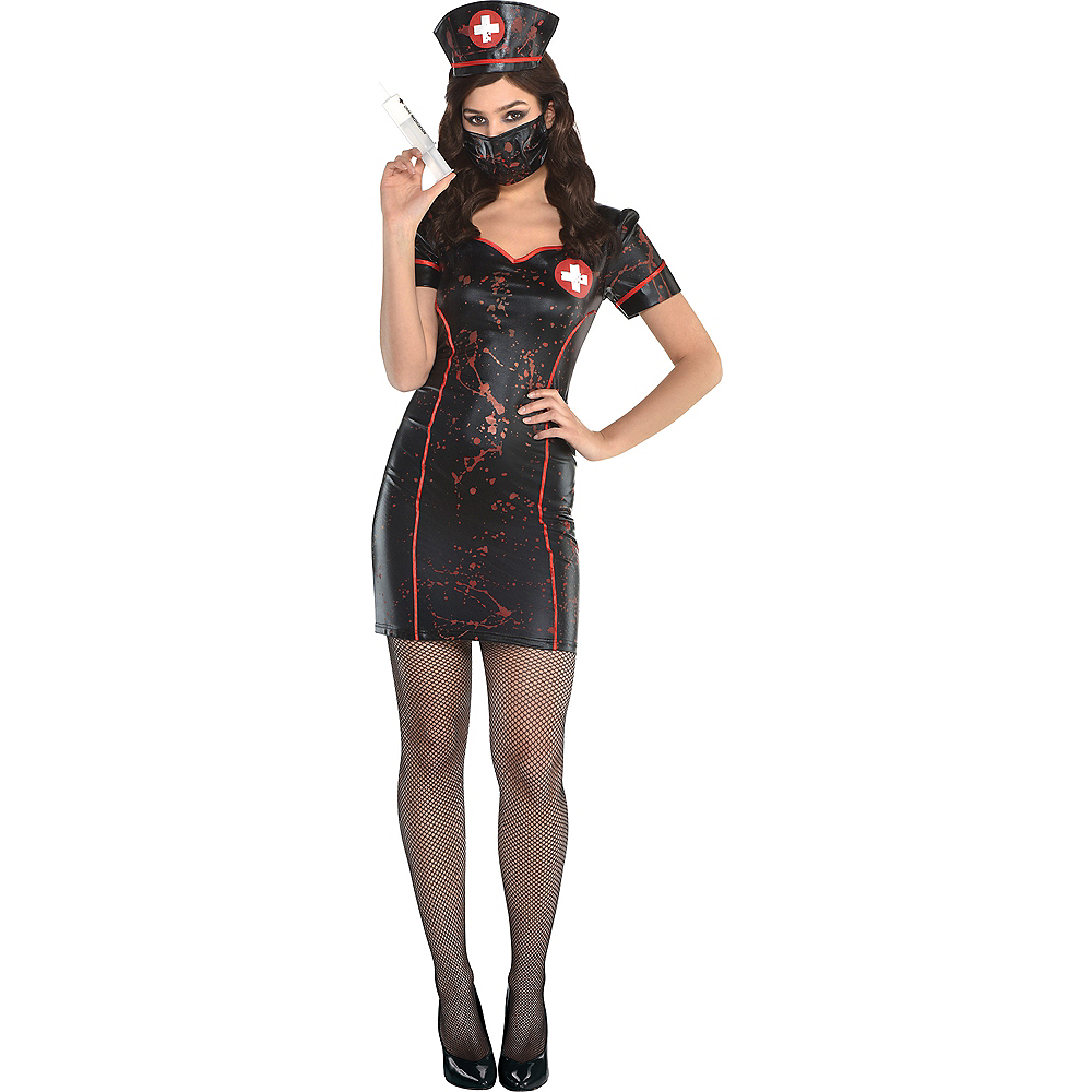 Nav Item for Womens Twisted Nurse Costume Accessory Kit Image #1