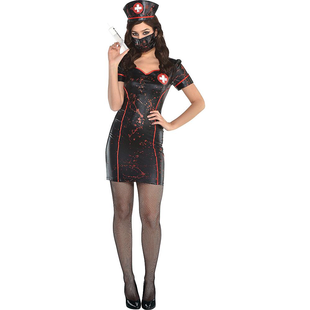 Womens Twisted Nurse Costume Accessory Kit Image #1