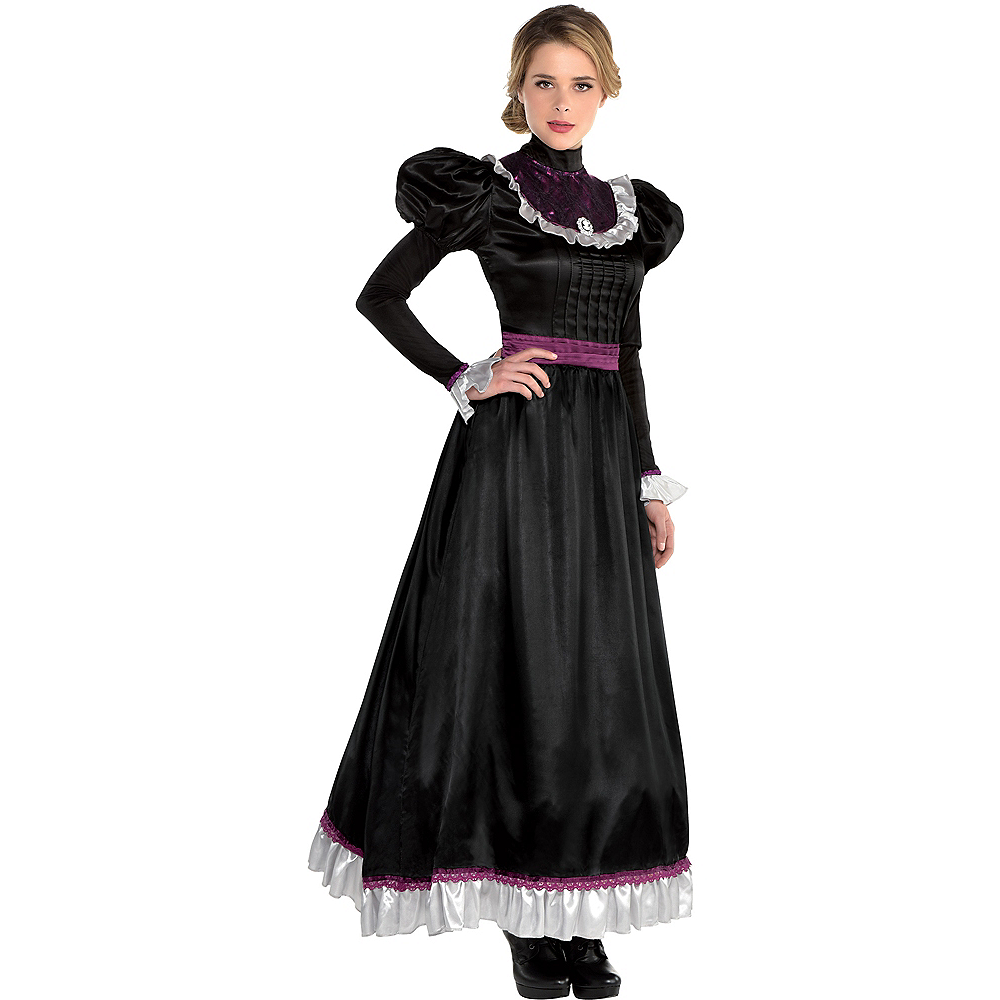 Womens Victorian Dress Image #1