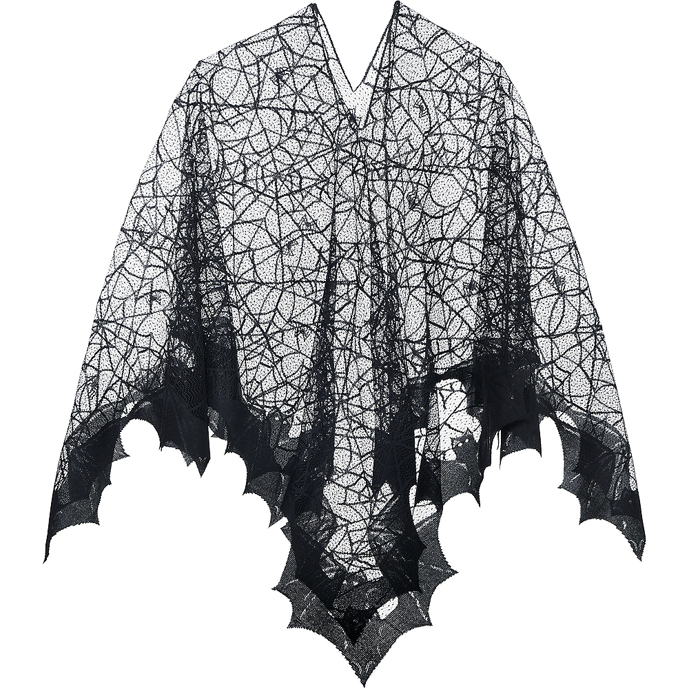 Nav Item for Spider Web Poncho Image #2