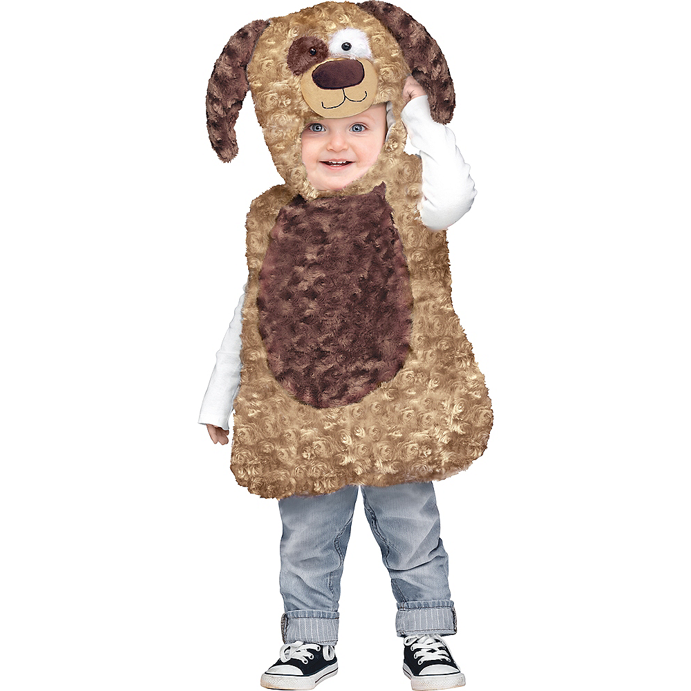 Baby Cuddly Puppy Costume Image #1