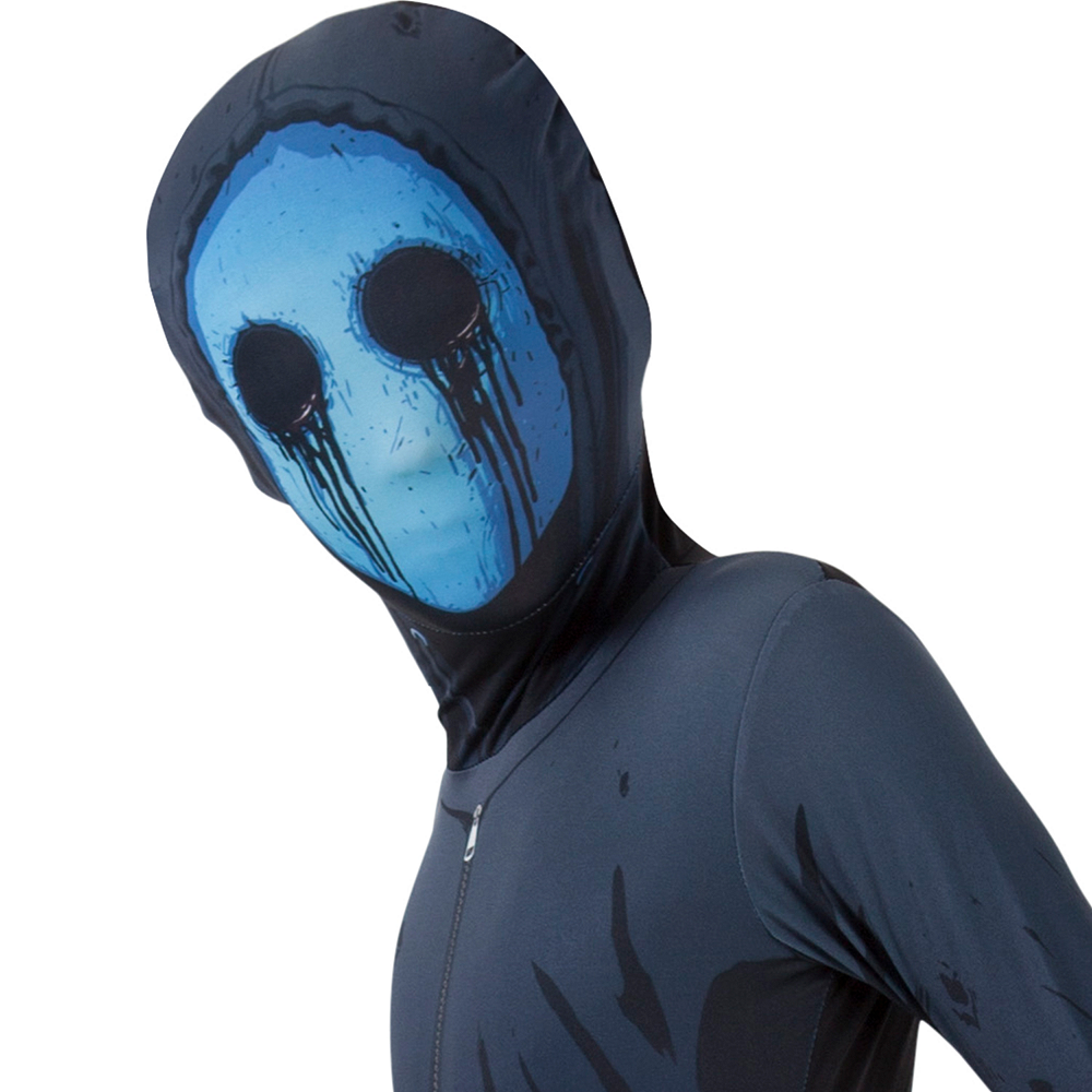 Boys Eyeless Jack Morphsuit Image #2