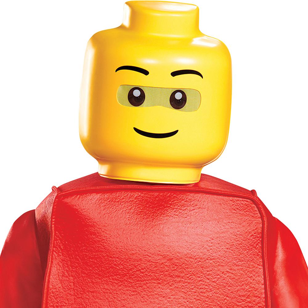 Child Lego Guy Costume Deluxe Image #2