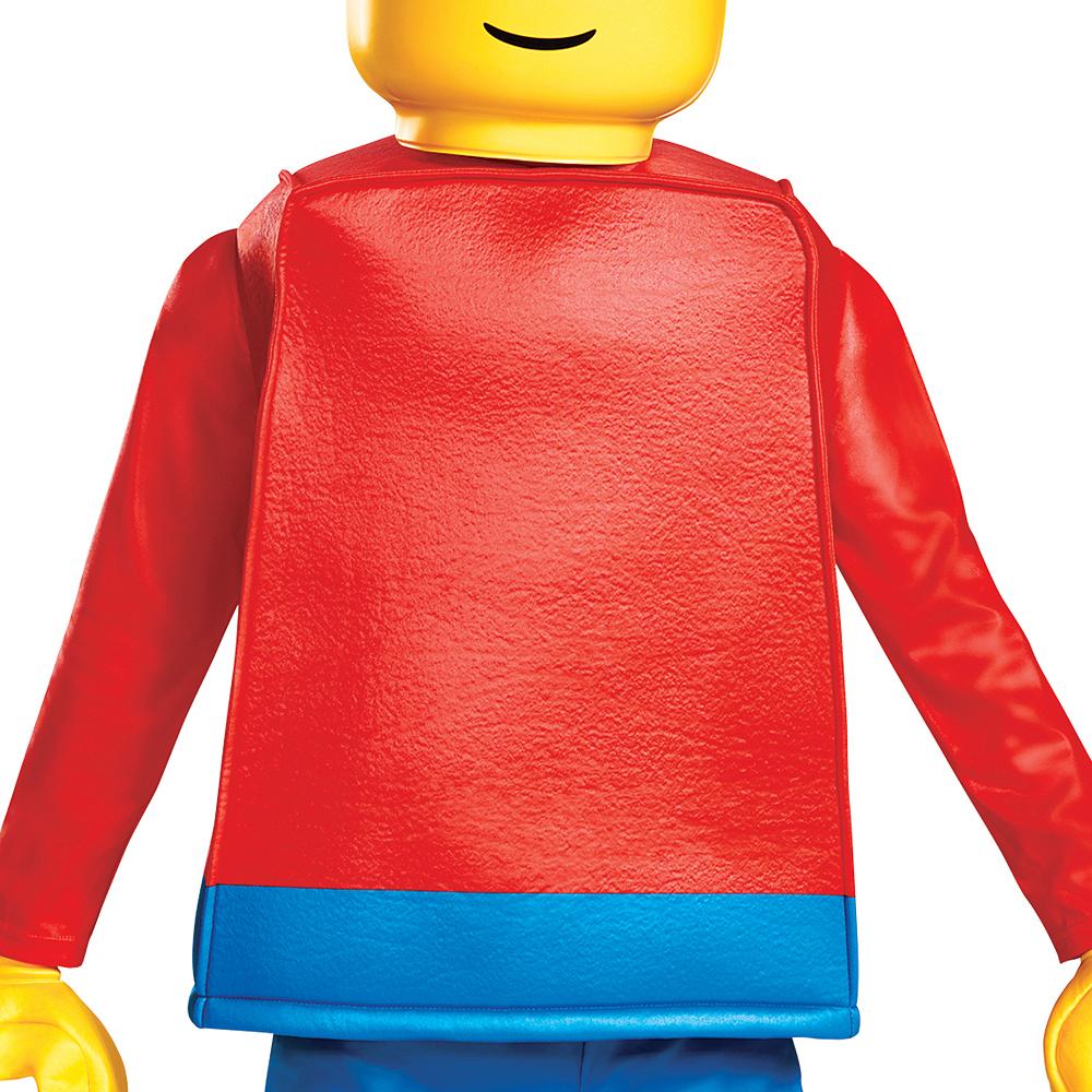 Child Lego Guy Costume Deluxe Image #3