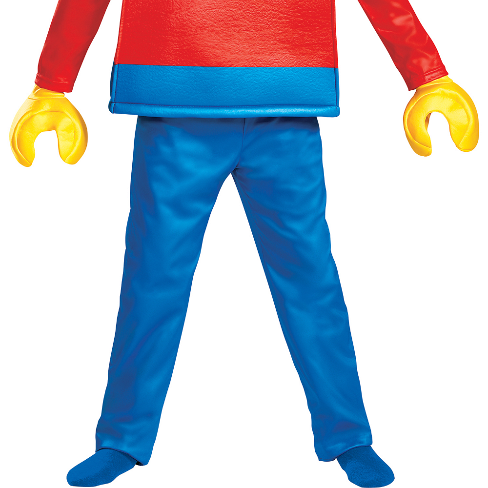 Child Lego Guy Costume Deluxe Image #4