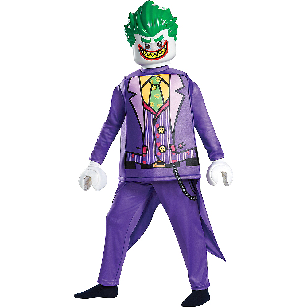Child Lego Joker Costume Lego Batman Movie Party City