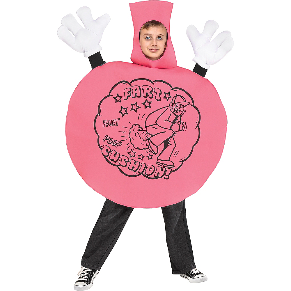 Child Whoopee Cushion Costume with Sound Image #1