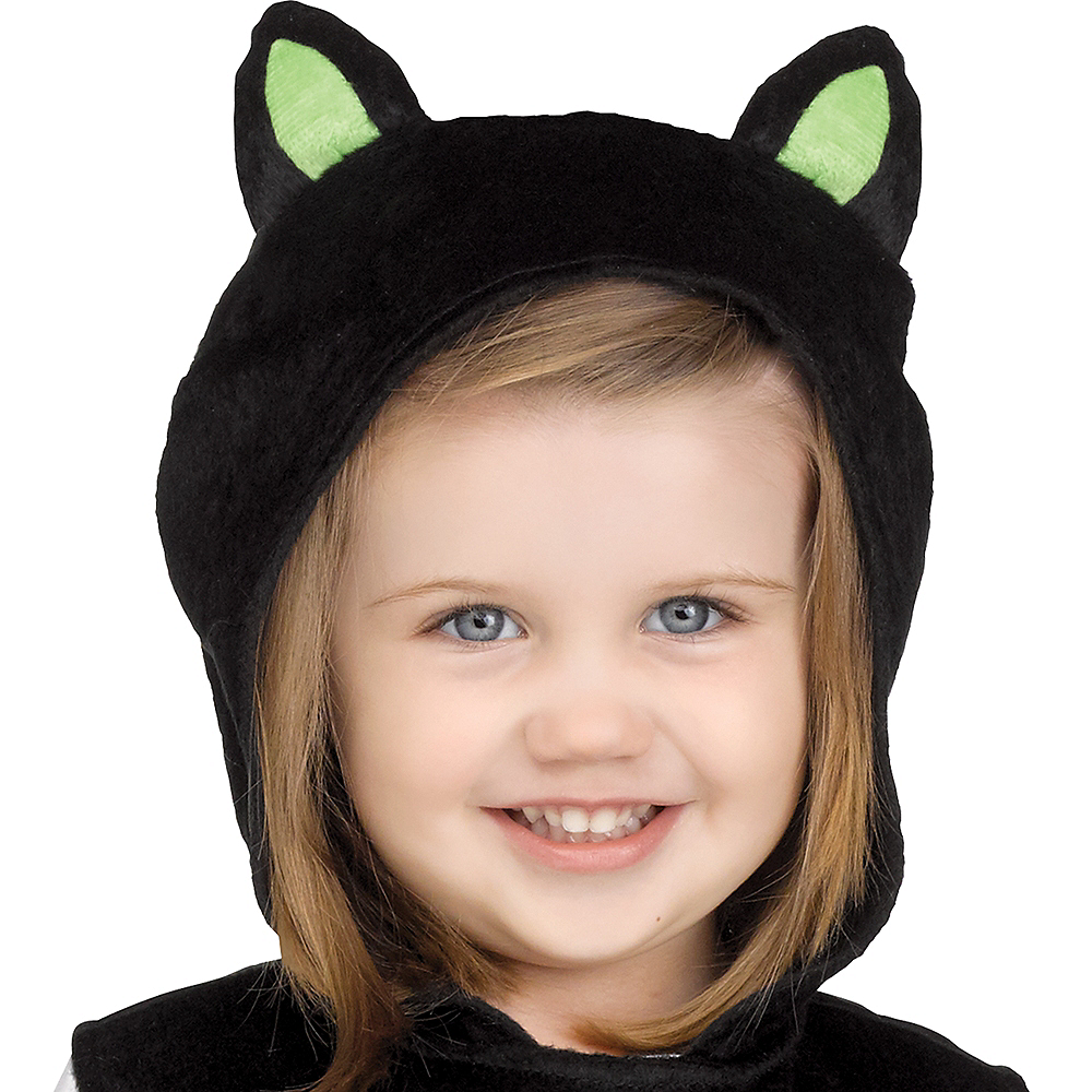 Nav Item for Baby Googly Eye Black Cat Costume Image #2