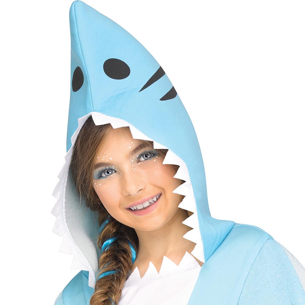 Girls Shark Costume Image #2