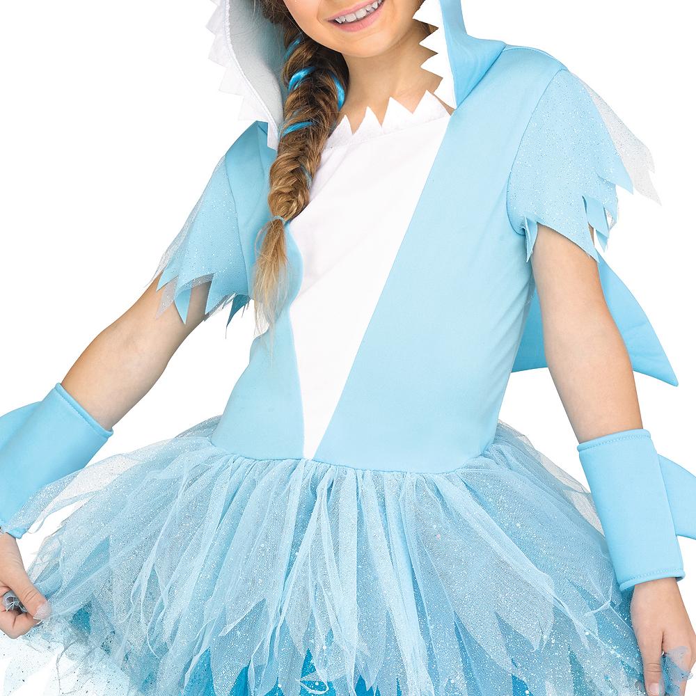 Girls Shark Costume Image #3