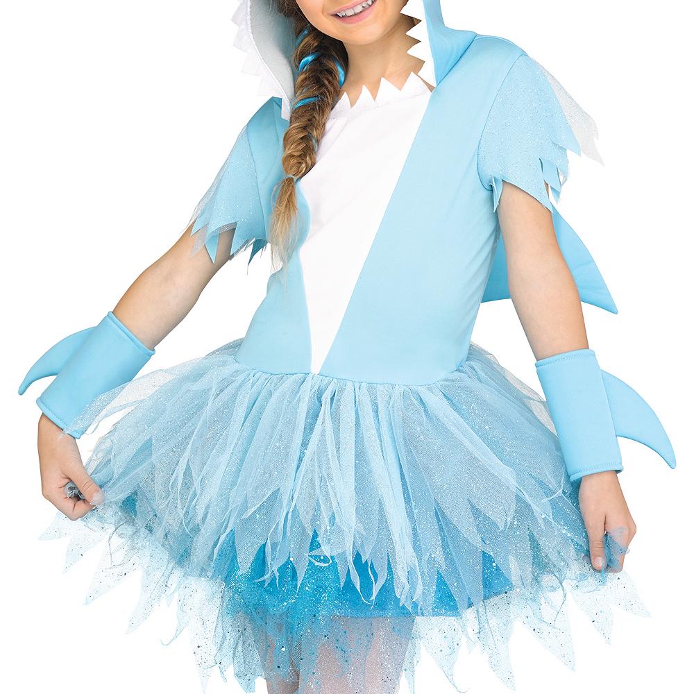 Girls Shark Costume Image #4
