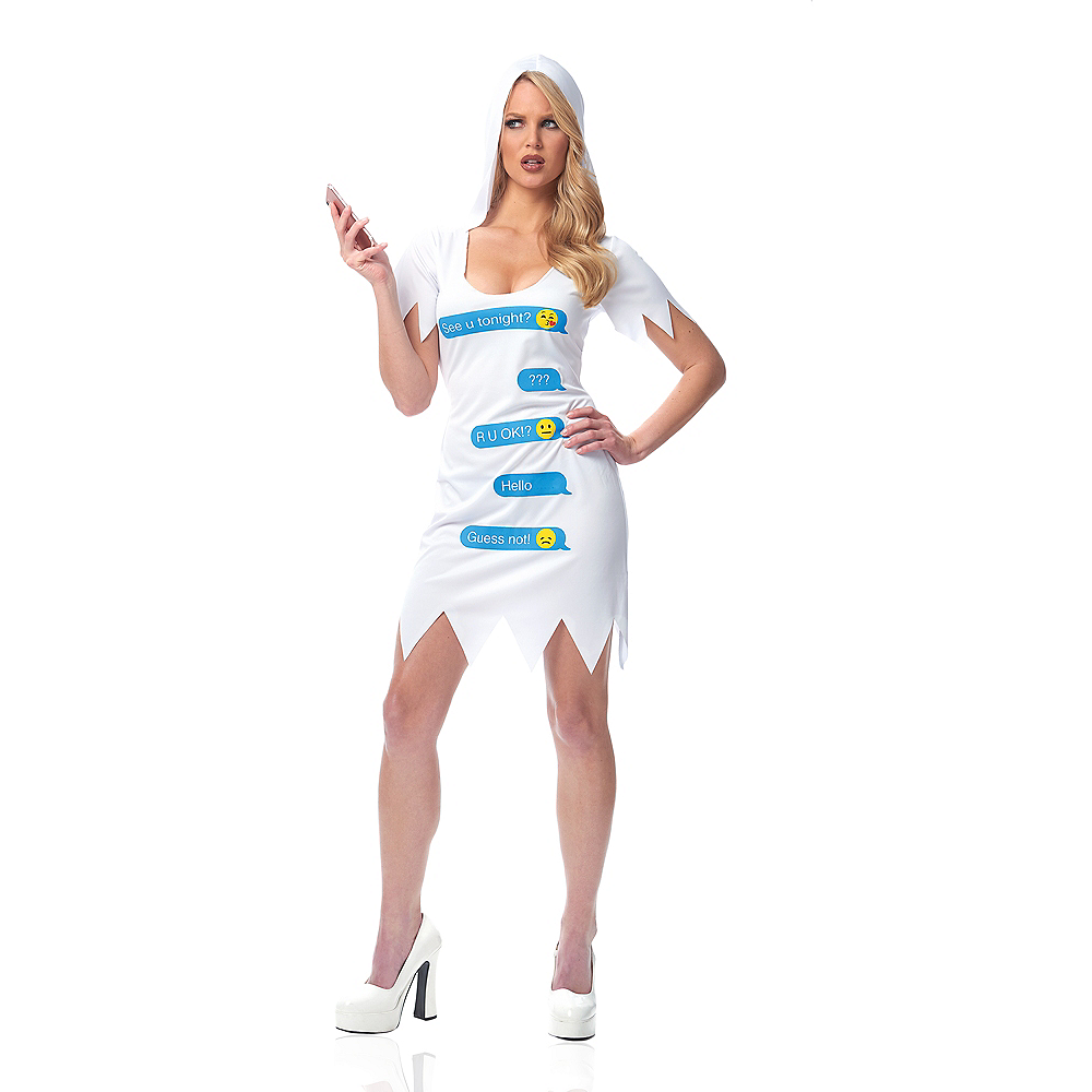 Womens Ghosted Costume Image #1