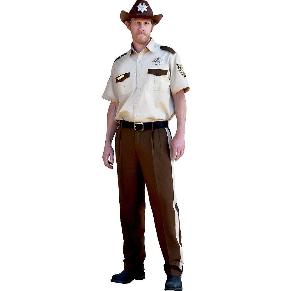 Mens Rick Grimes Costume - The Walking Dead Image #1
