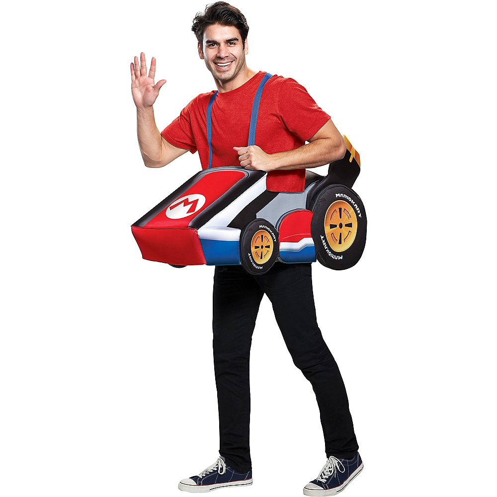 Adult Mario Kart Ride-On Costume | Party City