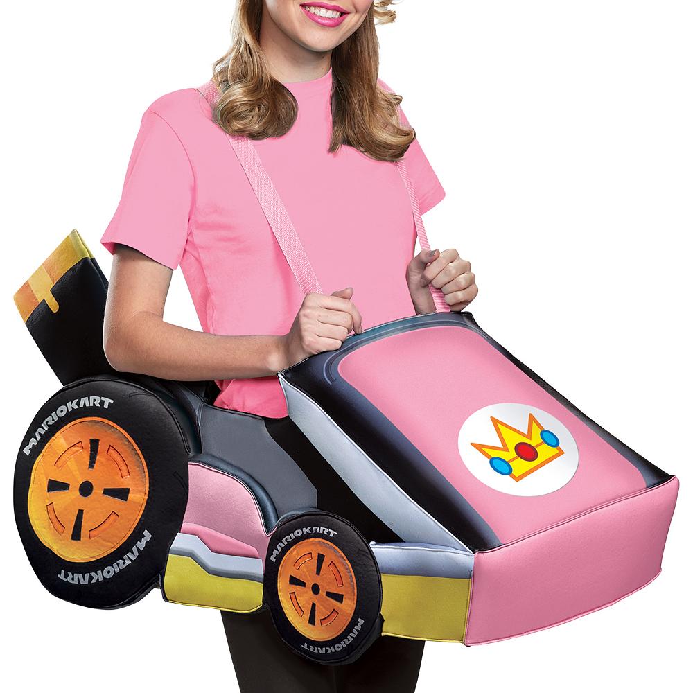 Adult Peach Kart Ride-On Costume Image #2