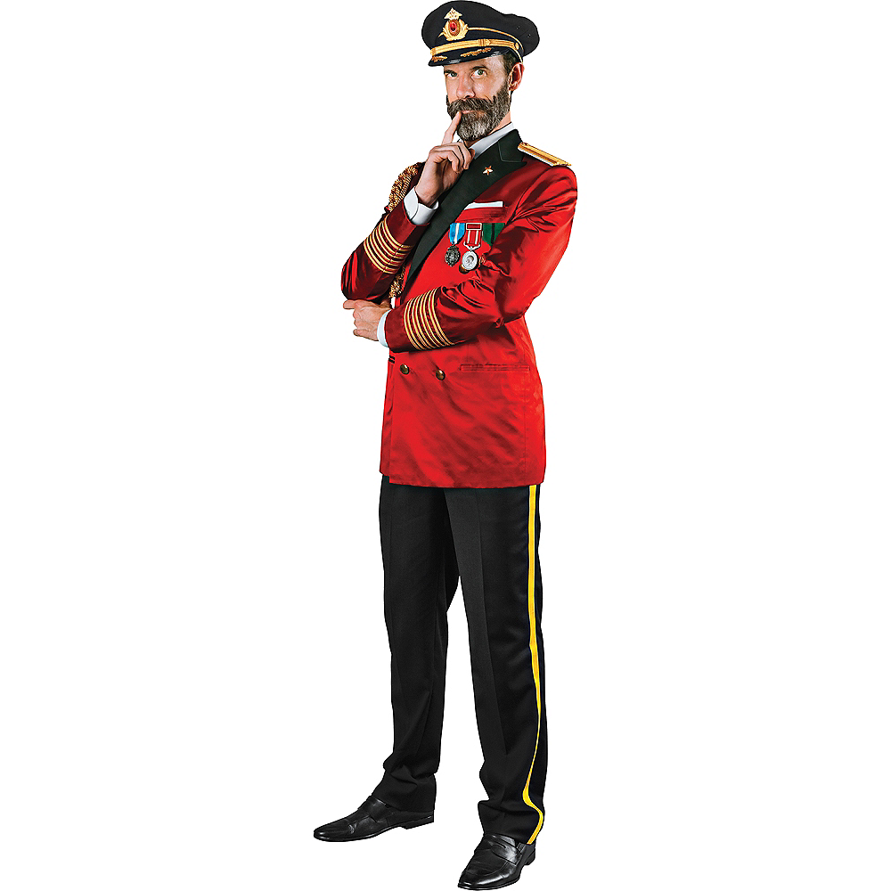 Adult Captain Obvious Costume Image #1