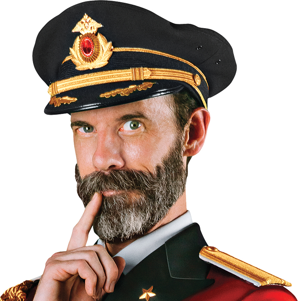 Adult Captain Obvious Costume Image #2