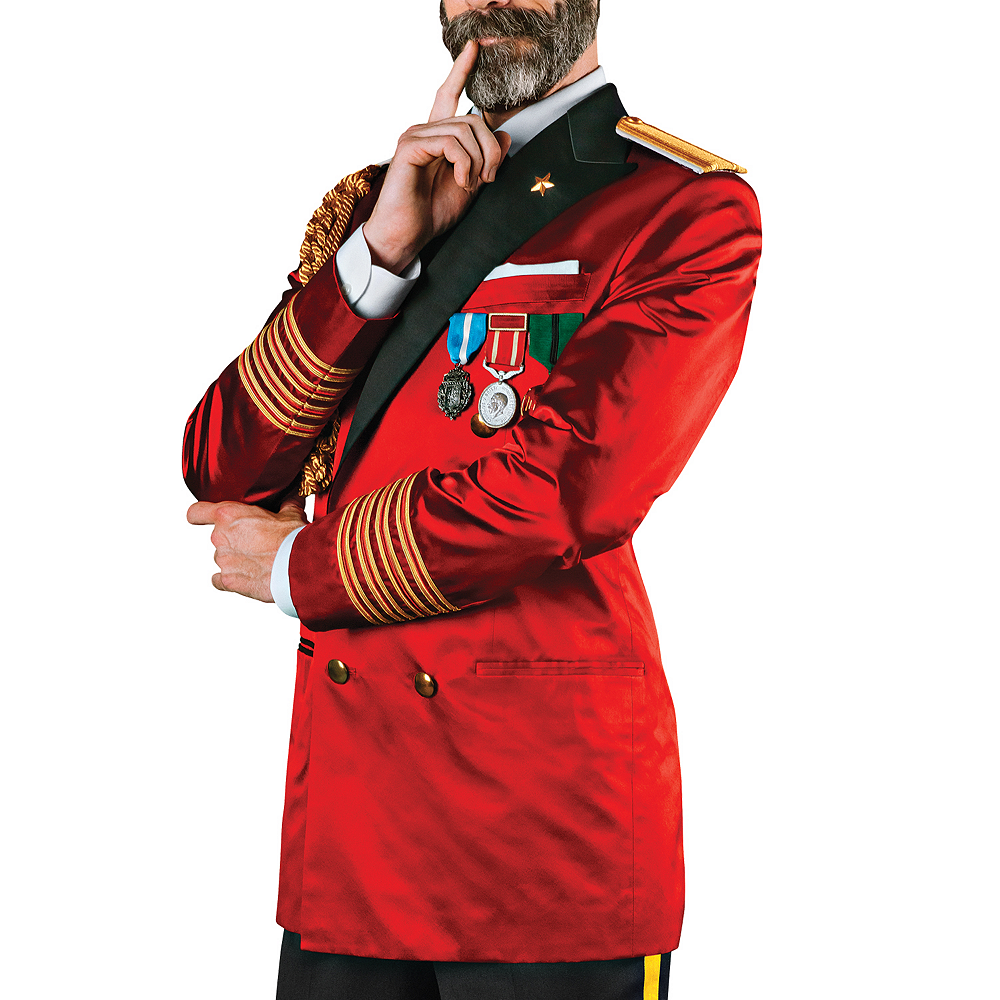 Adult Captain Obvious Costume Image #3