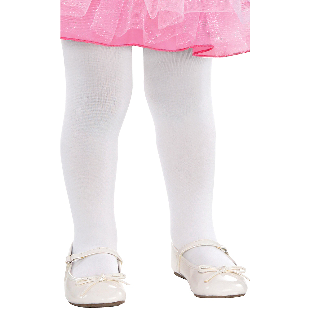 eab0347f36f62 Baby White Tights | Party City