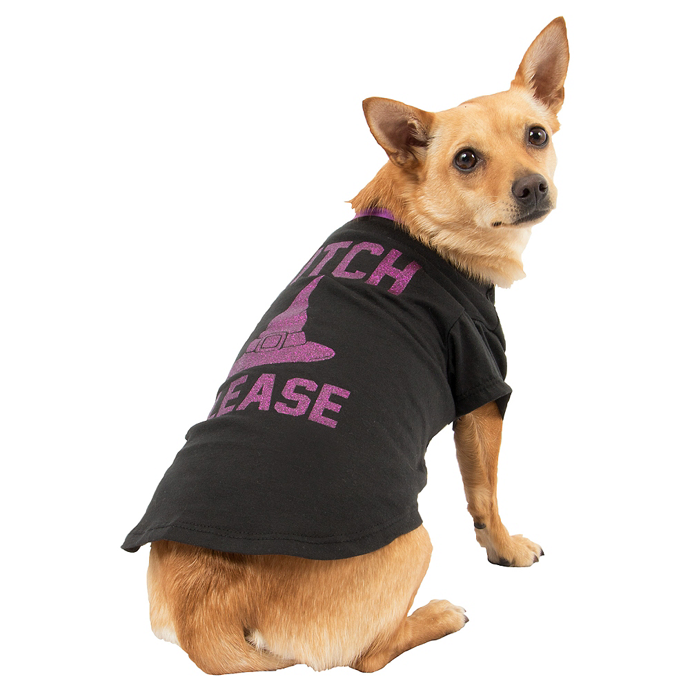 Witch Please Dog Shirt Image #1