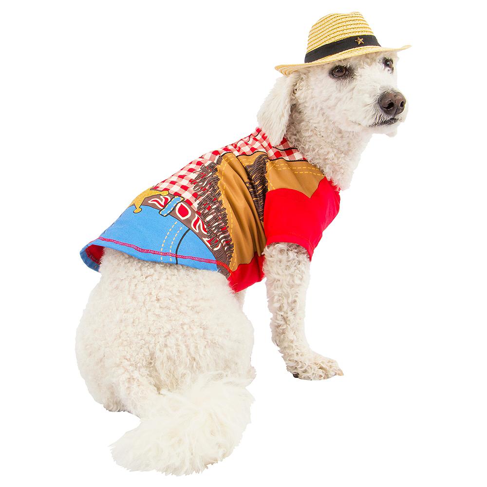 Cowboy Dog Costume Image #1