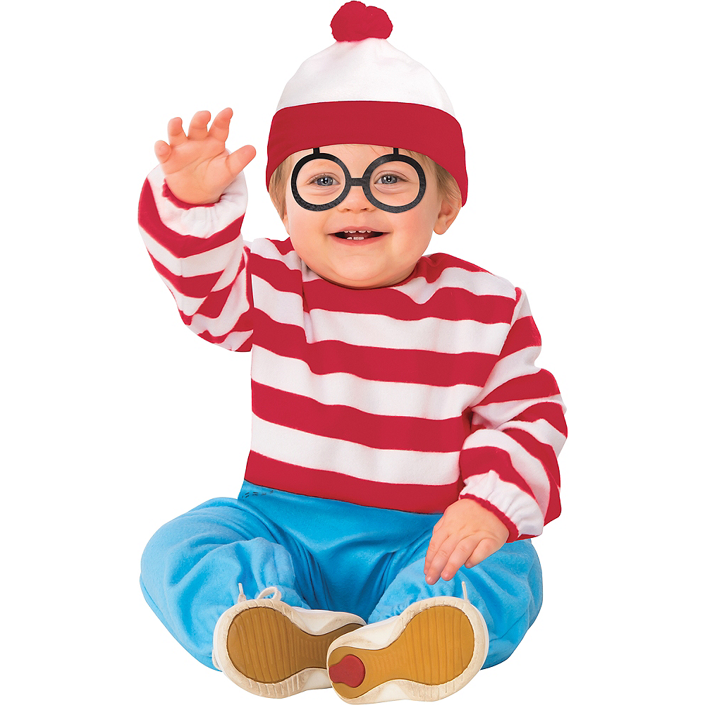 Toddler Boys Where's Waldo Costume Image #1