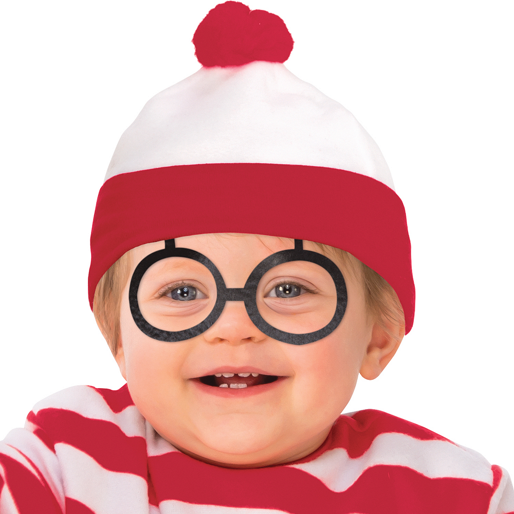 Toddler Boys Where's Waldo Costume Image #2