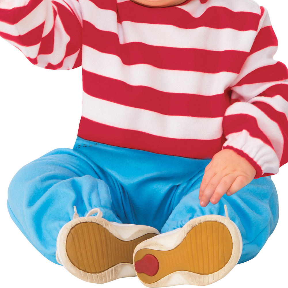 Toddler Boys Where's Waldo Costume Image #4