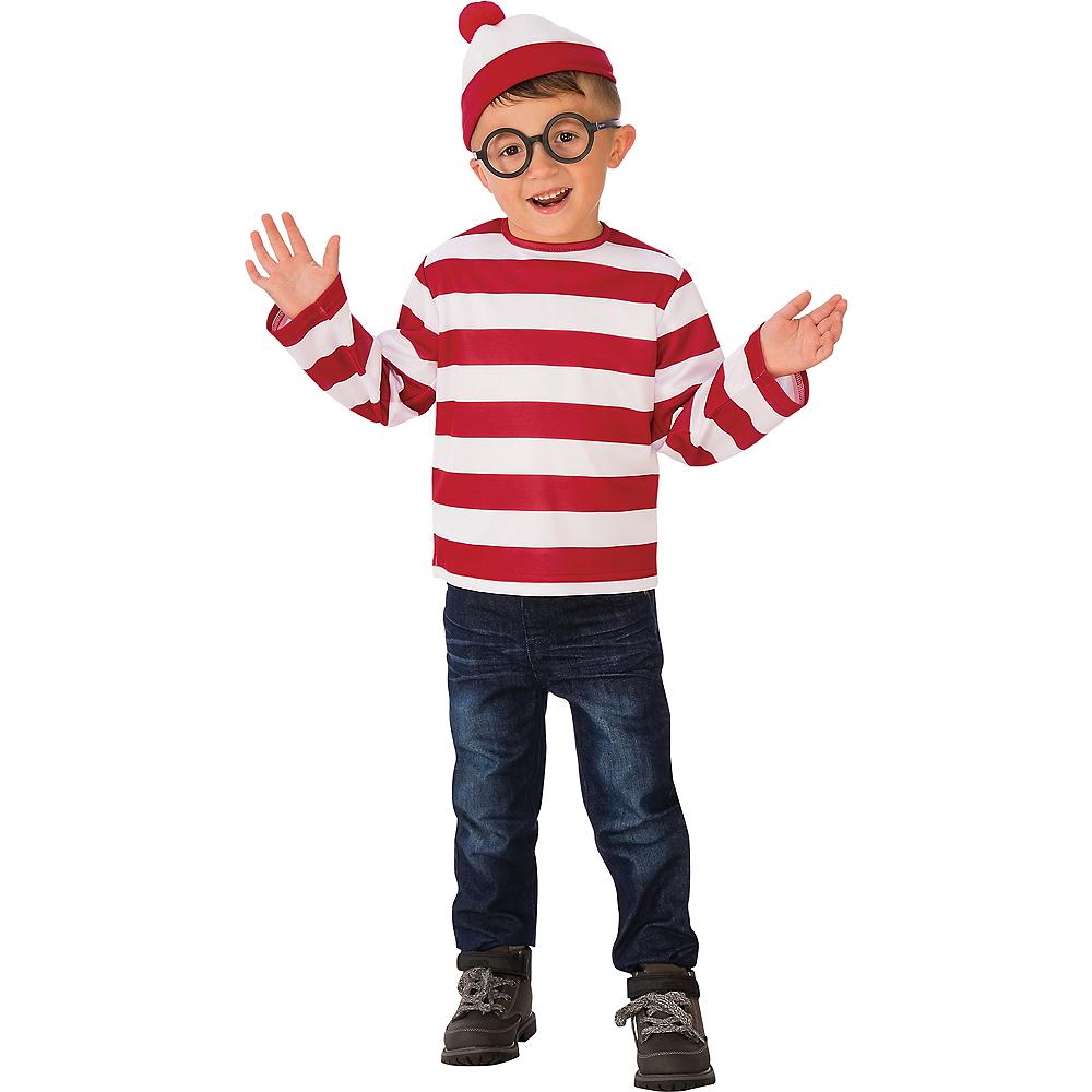 Boys Where's Waldo Costume Image #1