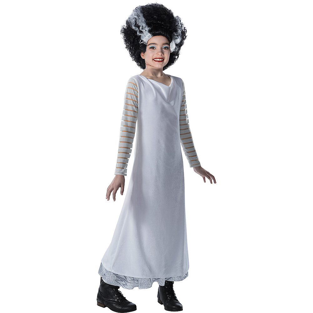 Girls Bride of Frankenstein Costume Image #1