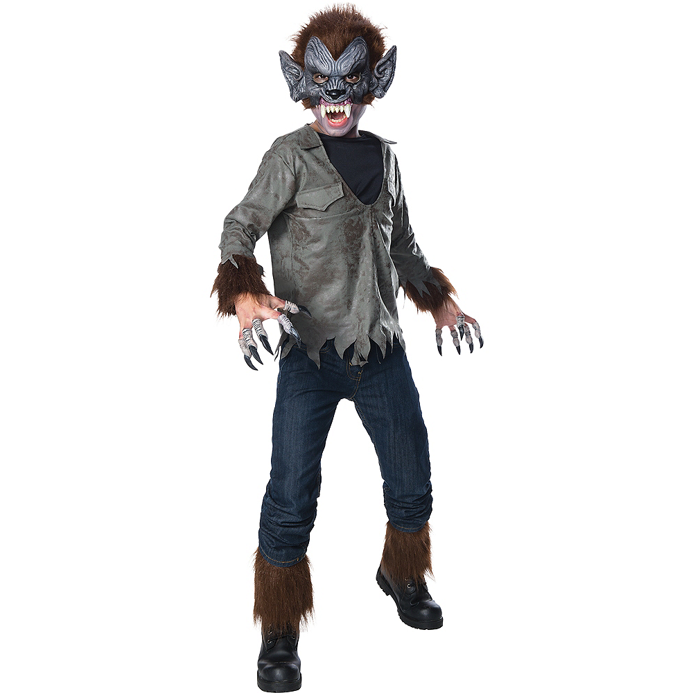Nav Item for Boys Wolfman Costume Image #1