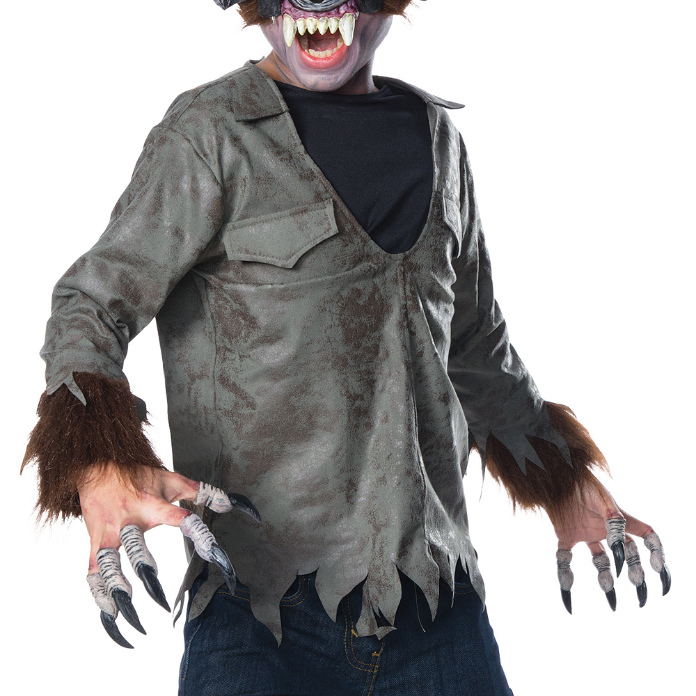 Nav Item for Boys Wolfman Costume Image #3