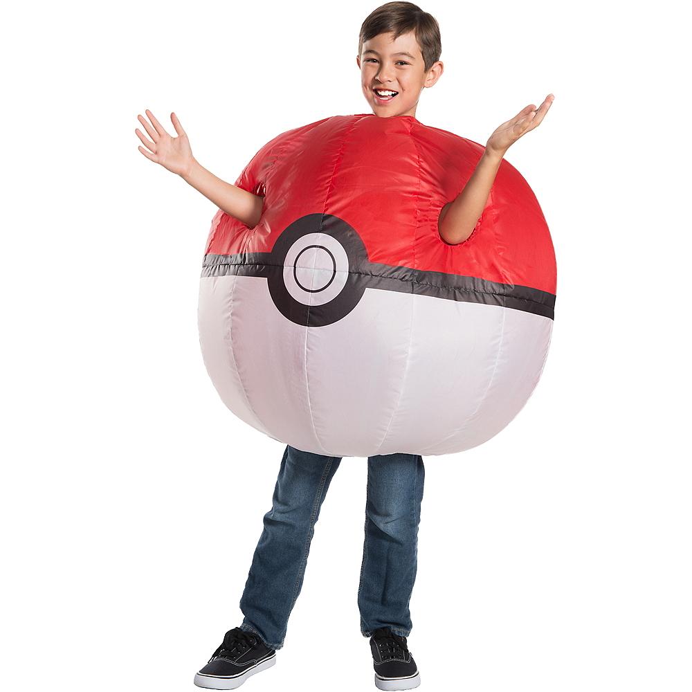 Child Inflatable Pokeball Costume - Pokemon Image #1