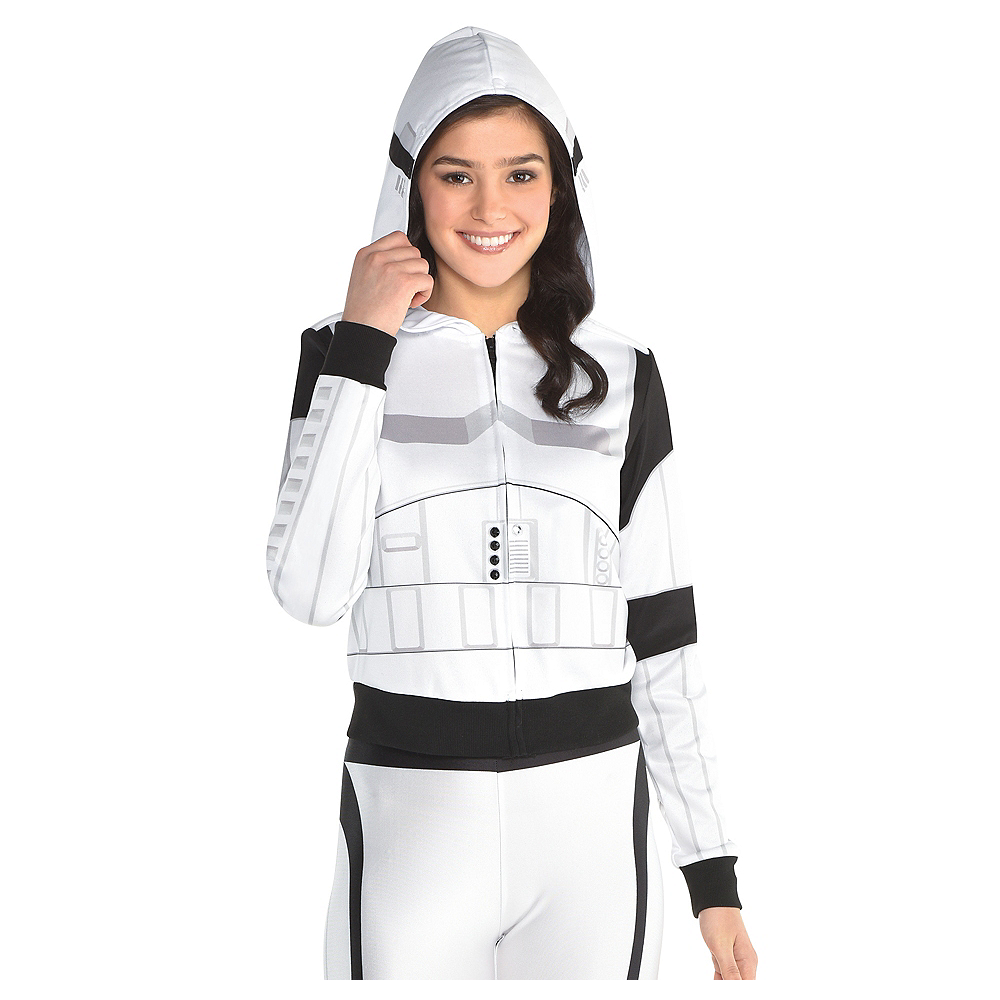 Nav Item for Adult Stormtrooper Hoodie - Star Wars Image #1