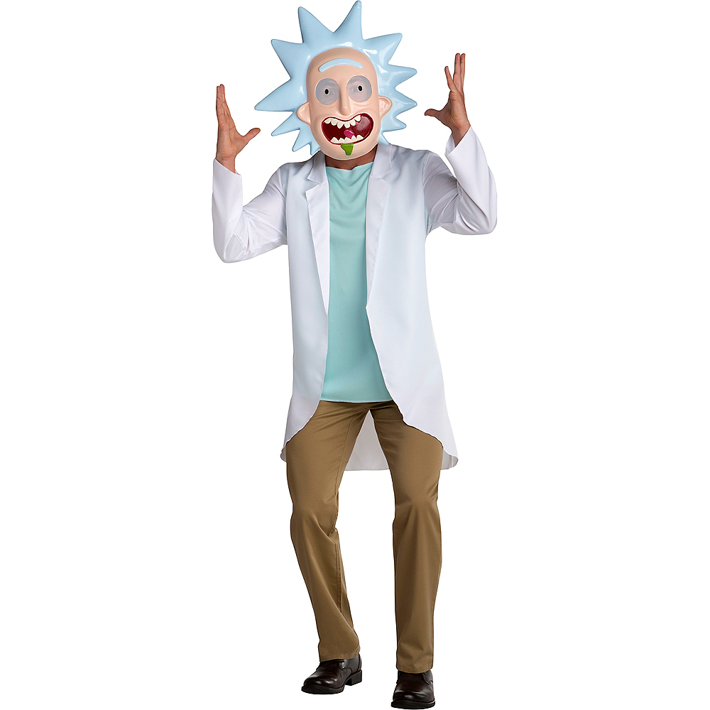 Adult Rick Costume - Rick and Morty Image #1