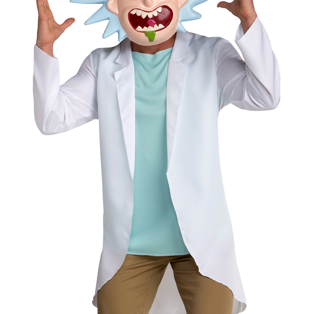 Nav Item for Adult Rick Costume - Rick and Morty Image #3