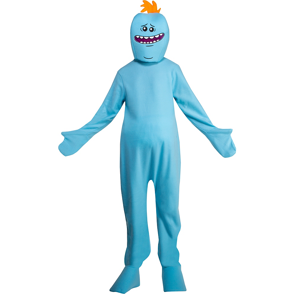 Adult Mr. Meeseeks Costume - Rick and Morty Image #1