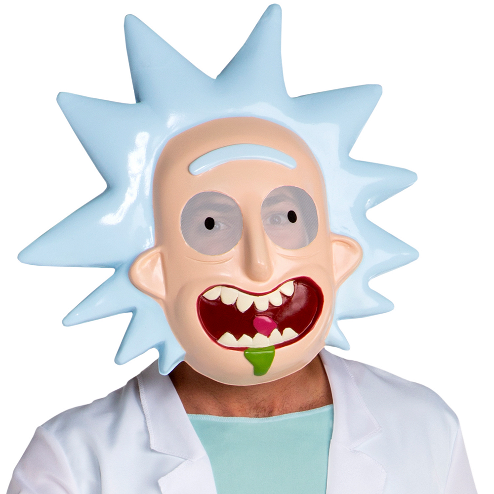 Nav Item for Teen Boys Rick Costume - Rick and Morty Image #2