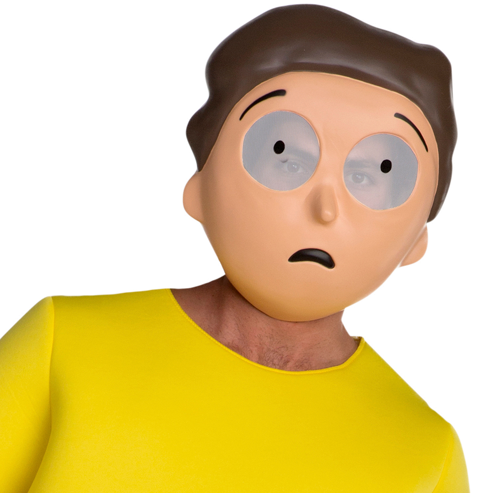 Nav Item for Teen Boys Morty Costume - Rick and Morty Image #2