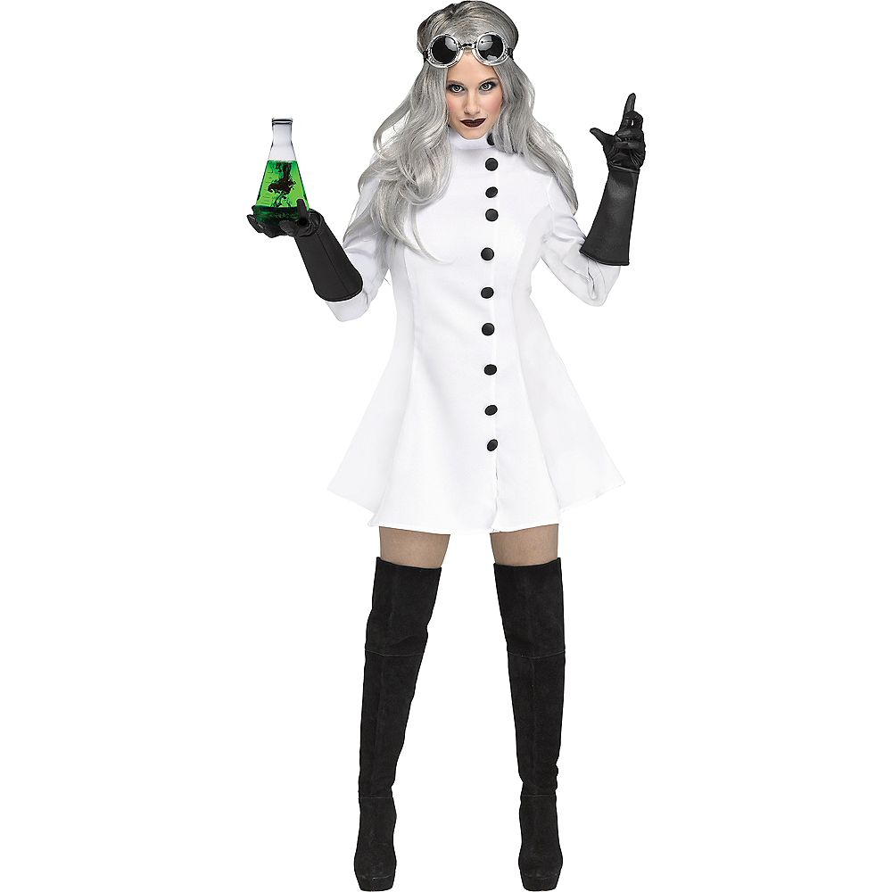 nav item for womens mad scientist costume image 1